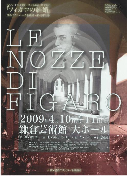 フィガロの結婚20090410